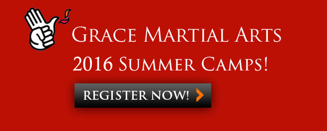 Grace Martial Arts 2016 Summer Camps